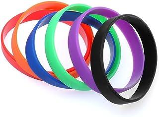 Distinct® 1 PCS Silicone degli Uomini di Gomma e Donne Sport Bracciale Pallacanestro Wristband-