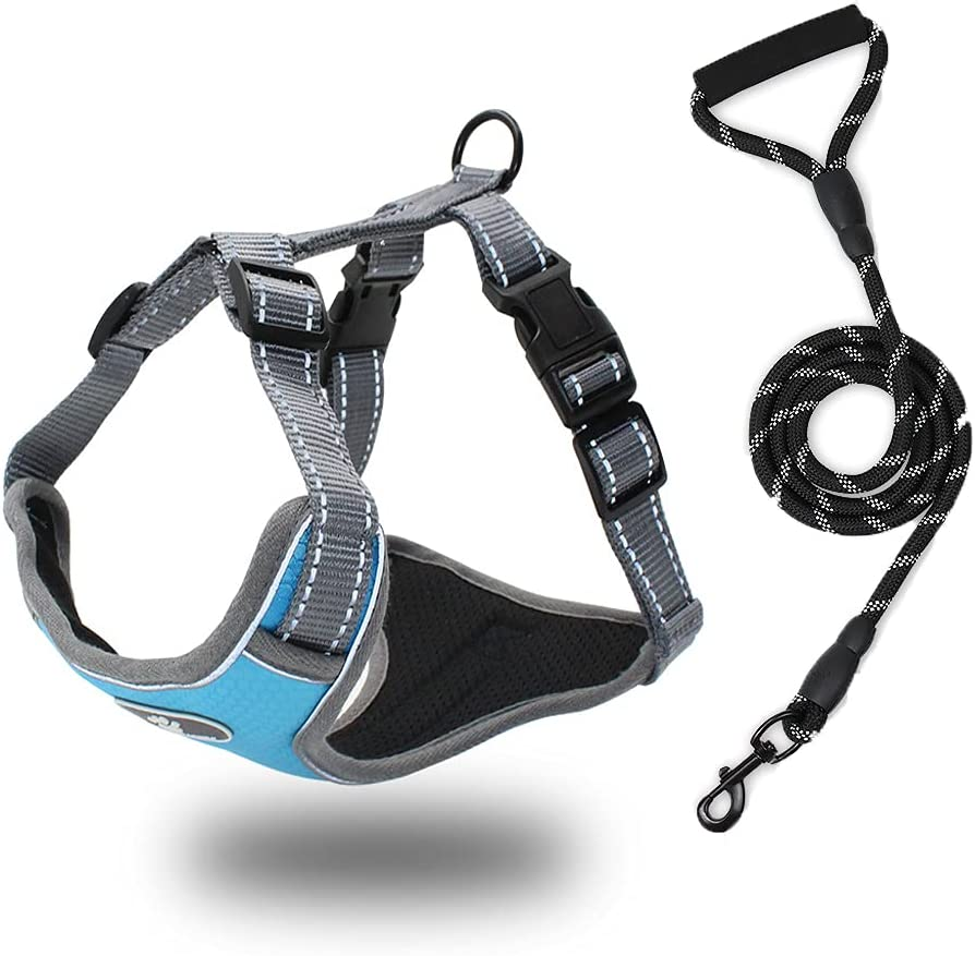 Dog Harness Dedication with Leash Adjustable Reflective Me for Don't miss the campaign Strips