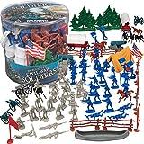 Civil War Army Men Toy Soldier Action Figures...