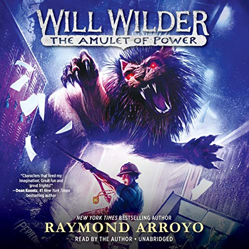 The Amulet of Power audiobook cover art