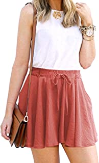 DressU Women's Plus Size Over Waist Baggy Frill Wide Leg Bermuda Shorts