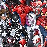 Marvel Stoff – Spiderman-Charaktere – SC312 – 0,5