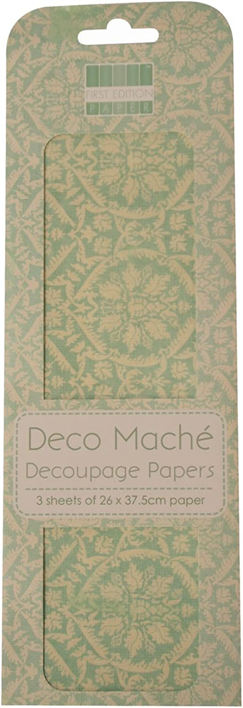 First Edition Deco Mache Damask B00EE2N4XU | Ein Gleichgewicht zwischen zwischen zwischen Zähigkeit und Härte  b479c8