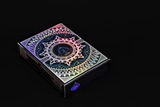 Alloy Cobalt Playing Cards Poker Deck Custom Design Foiled Backs & Faces New