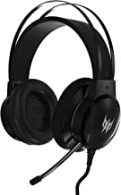 Acer Predator Galea 300 Gaming Headset - TrueHarmony Technology, 40mm Driver Bio-cellulose, Retractable Omni-directional M...