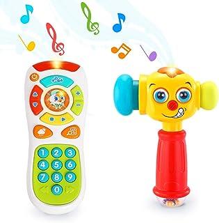 VATOS Juguete para el ba/ño del beb/é Ballena Squirt Toys Rociador Tina de ba/ño Pistola de Agua Flotante Juguetes para la ba/ñera Piscina de ba/ño Impermeable Juguetes para beb/és Ni/ños peque/ños