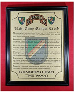 Junk and Disorderly, AZ US Army Ranger Creed RLTW (2nd Battalion)