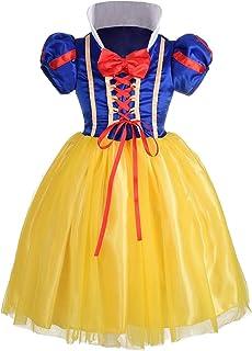 dae0e3be193eb ALEAD Fille Blanche-Neige Costume Mascarade Bal déguisé Toussaint fête