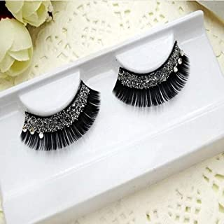 1 PAIR QUALITY DIAOMAND DRAMATIC GLITTER or DIAMONTE THICK