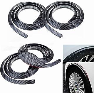 furong Adatta per Il 2016 2017 2018 VW Tiguan MK2 4 Motion 4motion 4x4 Laterale del Lato del Lato del parafango del parafango del parafango Autoadesivo del Distintivo Color Name : 4PCS No Logo