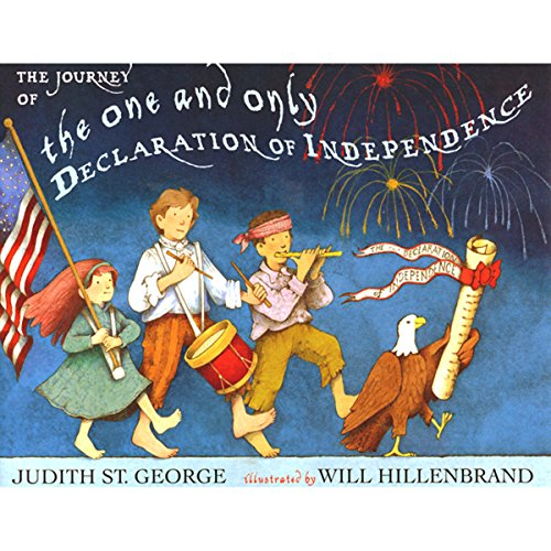 The Journey of the One and Only Declaration of Independence audiobook cover art