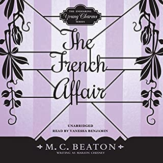 The French Affair                   By:                                                                                                                                 M. C. Beaton                               Narrated by:                                                                                                                                 Vanessa Benjamin                      Length: 5 hrs and 6 mins     32 ratings     Overall 4.0