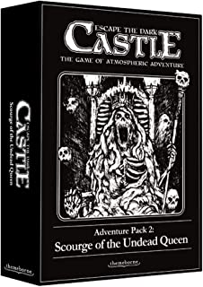 Asmodee Escape The Dark Castle: Scourge of The Undead Queen