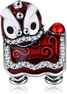 EVESCITY Stunning Quality Many Styles Silver Pendents 925 Sterling Beads Fits Pandora, Similar Charm Bracelets & Necklaces