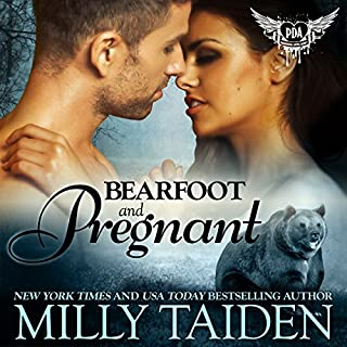 Bearfoot and Pregnant: BBW Paranormal Shape Shifter Romance     Paranormal Dating Agency Book 10              Written by:                                                                                                                                 Milly Taiden                               Narrated by:                                                                                                                                 Lauren Sweet                      Length: 3 hrs and 44 mins     1 rating     Overall 3.0