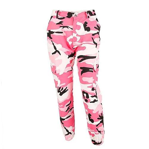 Pink Camouflage Trousers  Amazon.co.uk b832cab0e