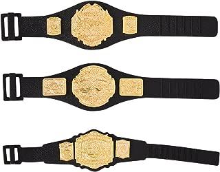 TNA Action Figure Belts Set of 3