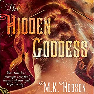 The Hidden Goddess audiobook cover art