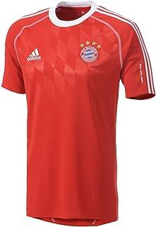 5dc7fbf33cf2e2 adidas - Maglietta Sportiva da Bambino, con Simbolo FC Bayern Monaco
