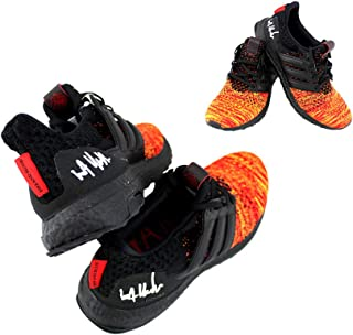 81c5d8091b497 Kit Harington Autographed Signed Game of Thrones Adidas X House Targaryen  Ultraboost Red Shoes