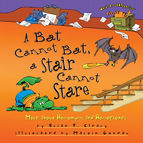 A Bat Cannot Bat, a Stair Cannot Stare copertina