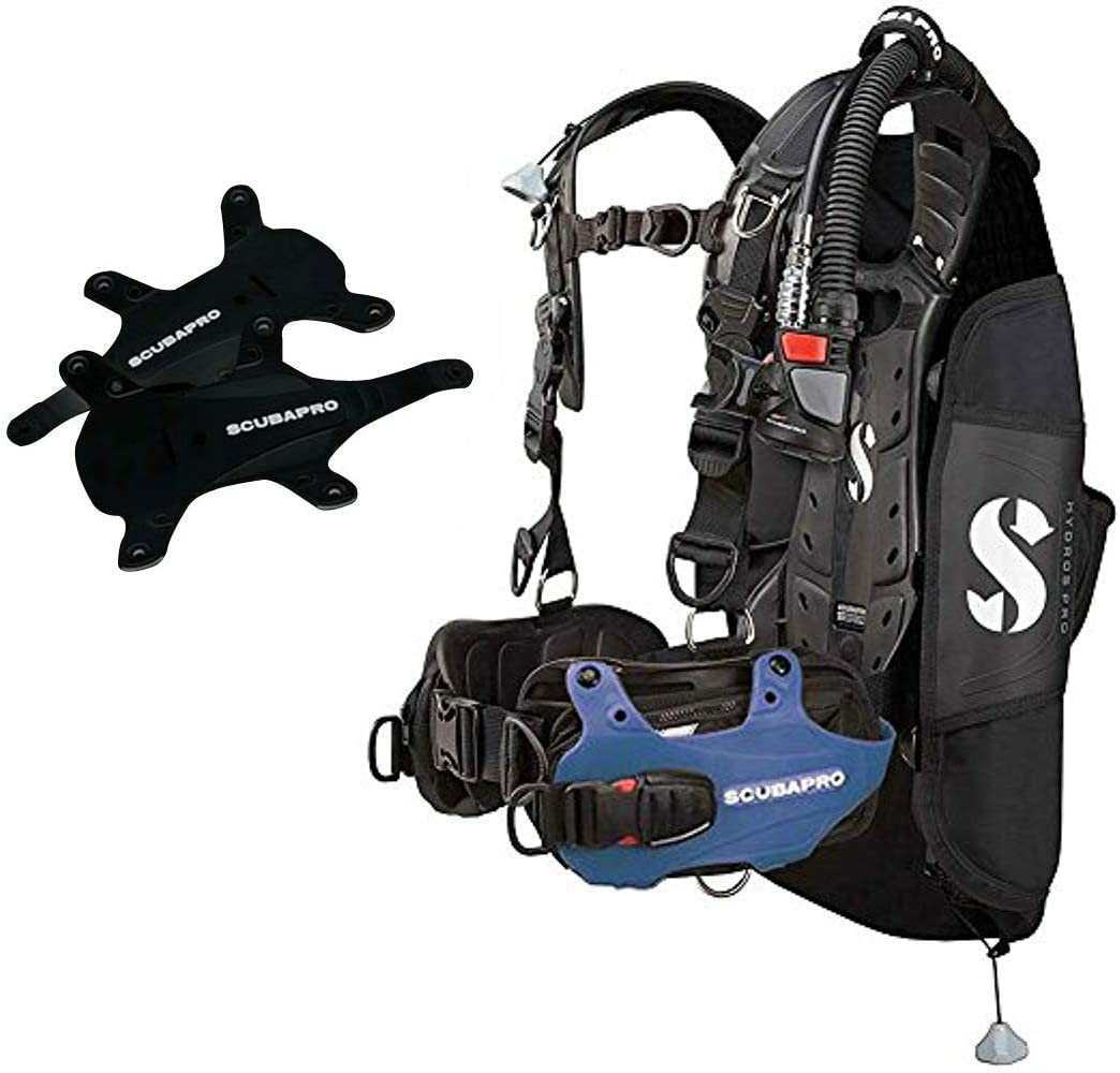 Scubapro Hydros Pro w 5th Blue-Large Max 41% Max 90% OFF OFF BCD- Air2 Gen.