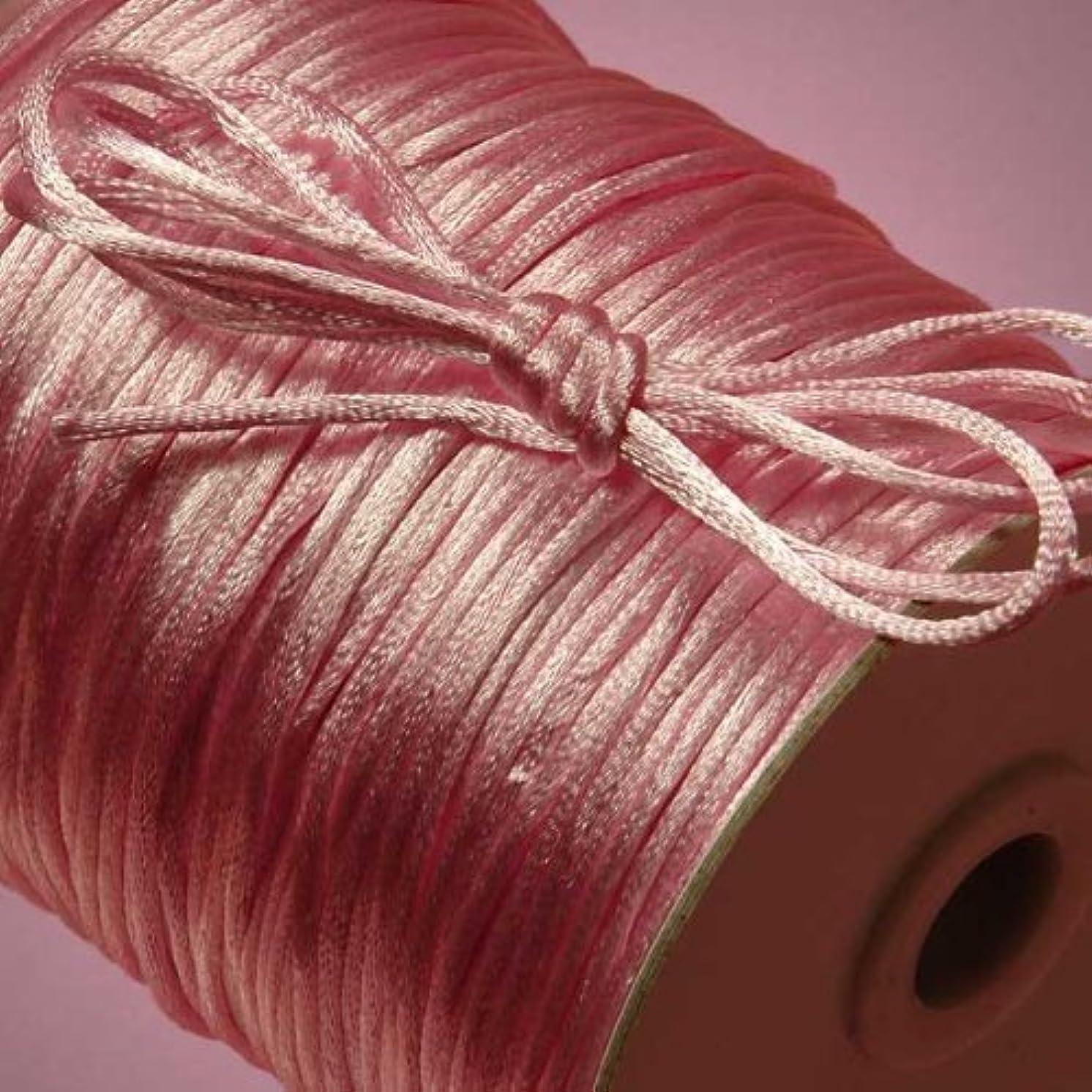 Pink Rat Tail Cord, 2mm X 200Yd