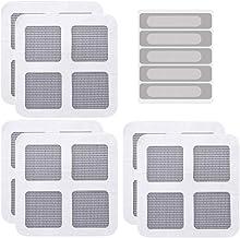 Hemoton 25 Stuks Raam Reparatie Tape Glasvezel Zelfklevende Deur Scherm Patch Sticker Mesh Film Voor Muggen Bug Vliegen St...