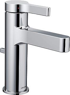 Moen 6710 Vichy One-Handle Single Hole Modern Bathroom Faucet, Chrome