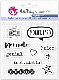 Anita y Su Mundo Momentos Sellos, Multicolor, 16,7x12cm, 10