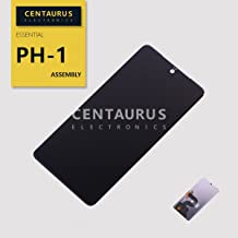 CENTAURUS Compatible with Essential PH-1 LCD Display Digitizer Touch Screen Glass Assembly Part Replacement for Essential Phone PH-1 5.7 inch (Black-NO Frame)