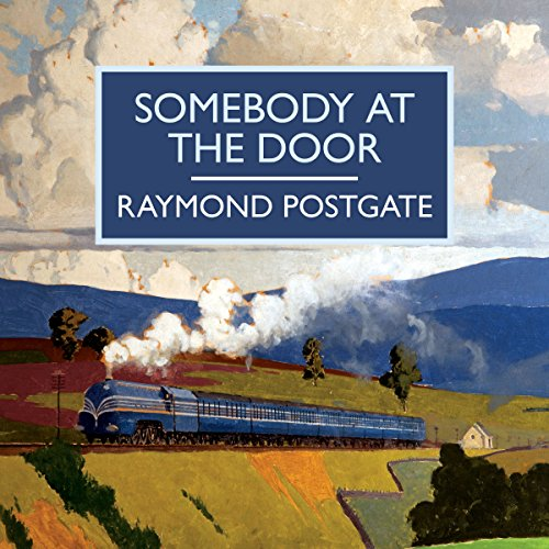 Somebody at the Door audiobook cover art