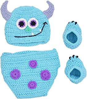 crochet baby monster pants