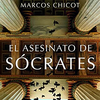 El asesinato de Sócrates audiobook cover art
