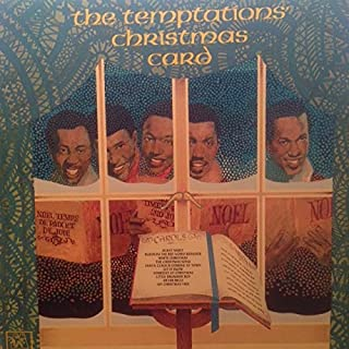 The Temptations Christmas Card 1970 Vinyl LP Record on Motown - Silent Night - Silver Bells - Let It Snow - Little Drummer Boy - The Christmas Song