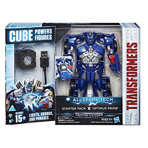 Hasbro Transformers C3479ES0 - Movie 5 All Spark Tech Starter Set Optimus Prime, Actionfigur