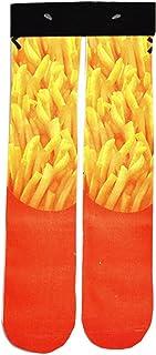 Doxi Supermall Women Fried Potatoes Harajuku Fashion Casual Long Ankle Socks