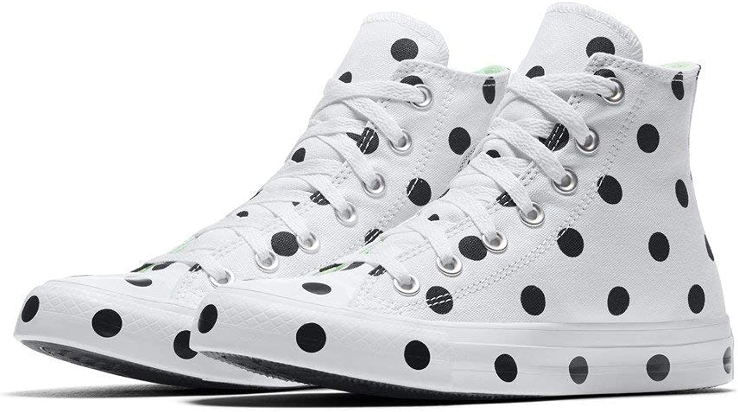 Converse - Frauen Chuck Taylor All Star Polka Dots High Top Schuhe  | Passend In Der Farbe