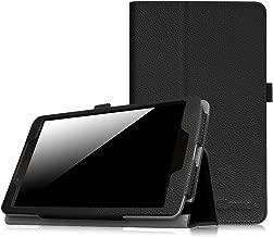 Fintie LG G Pad F 8.0 / G Pad II 8.0 Folio Case - Premium PU Leather Cover [Fit (4G LTE AT&T Model V495 / T-Mobile Model V496 / US Cellular Model UK495) & G Pad 2 8.0 V498] 8-Inch Tablet, Black