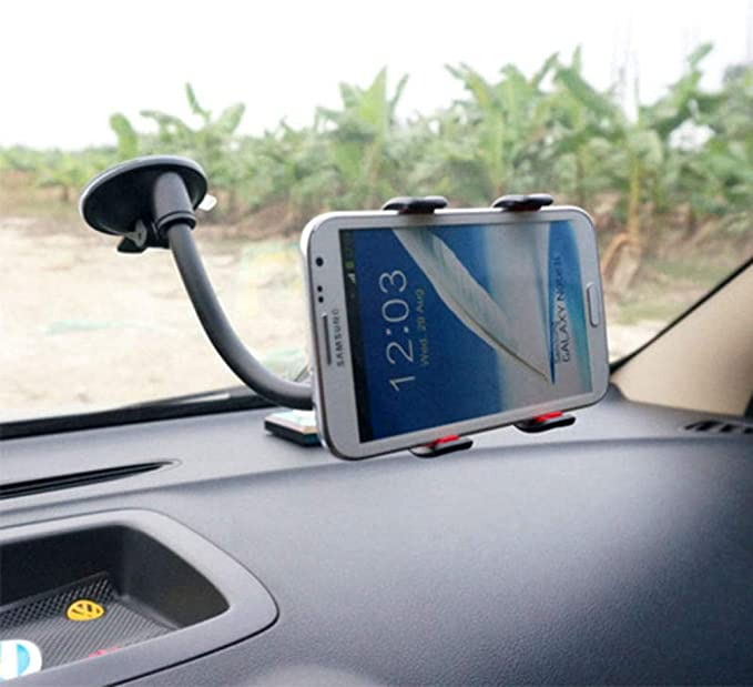 Support Suction Cup Stent Mount Window Stick Smartphone Cell Mobile Phone Holder Universal Windshield Car Phone Stand For Iphone Black Auto