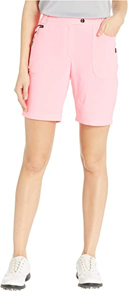 Airwear Lightweight Shorts with Front Zip and Button Closure