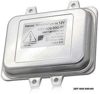 5DV 009 000-00 Xenon Hid Headlight Ballast Control Unit-for 2007-2014 Cadillac Escalade & 2006-2009 BMW E60 & 2008-2014 Chrysler Town Country (5dv 009 000-00) Mercedes, Jaguar, Volkswagen, Lincoln,