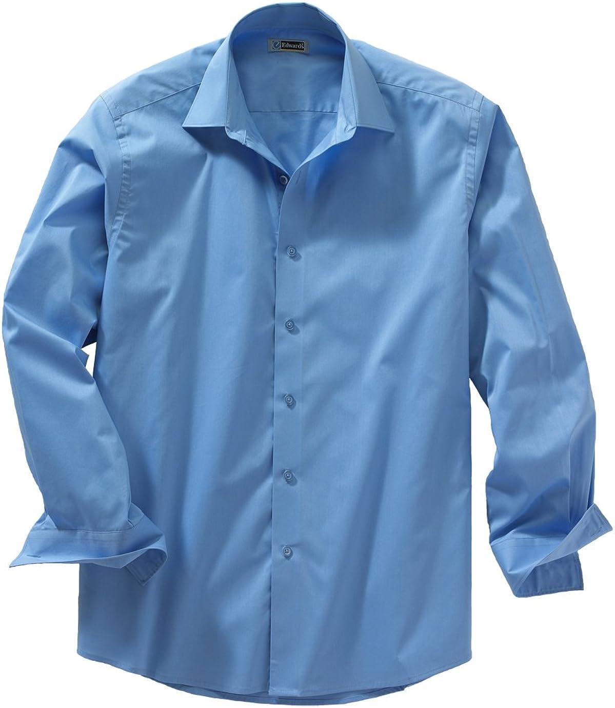 Ed Garments Men's 1033 Dress Shirts (Blue 6XL T)