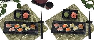stoneware sushi set