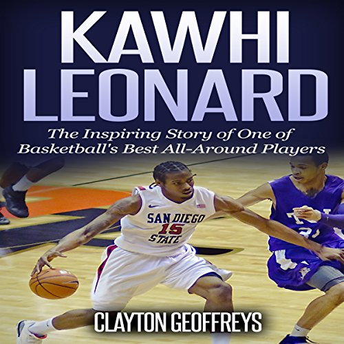 Kawhi Leonard audiobook cover art