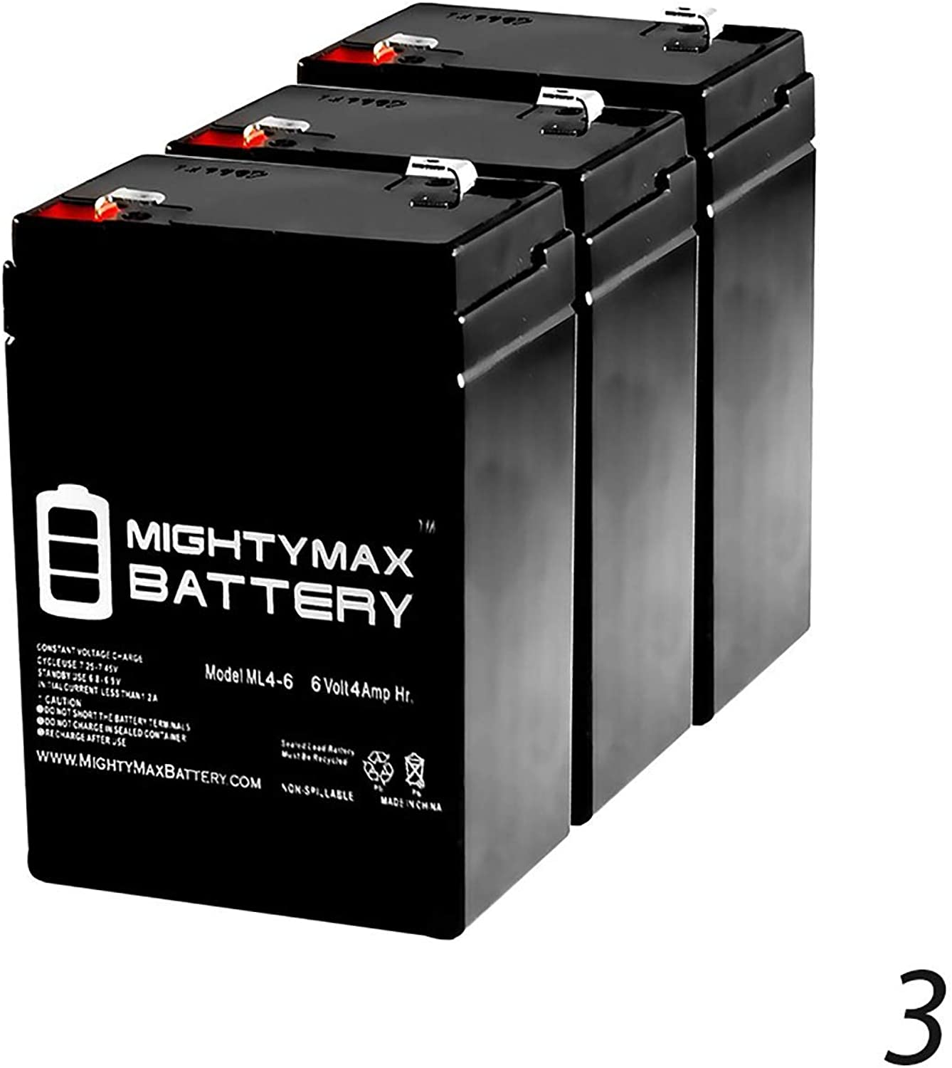 6V 4.5Ah Replacement for Decoy Mojo American Hunter Battery  3 Pack