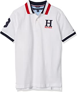 Boys' Little Short Sleeve Stretch Ivy Polo Collared...