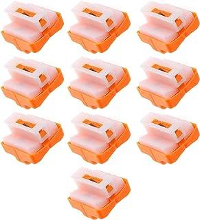 SING F LTD Paper Cutter Replacement, A4 Paper Cutter Blades Cutting Tool with Safe Pressing Design 10pcs Orange