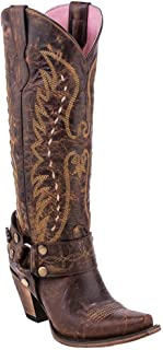 Junk Gypsy Women's by Lane Vagabond Western Boot Snip Toe