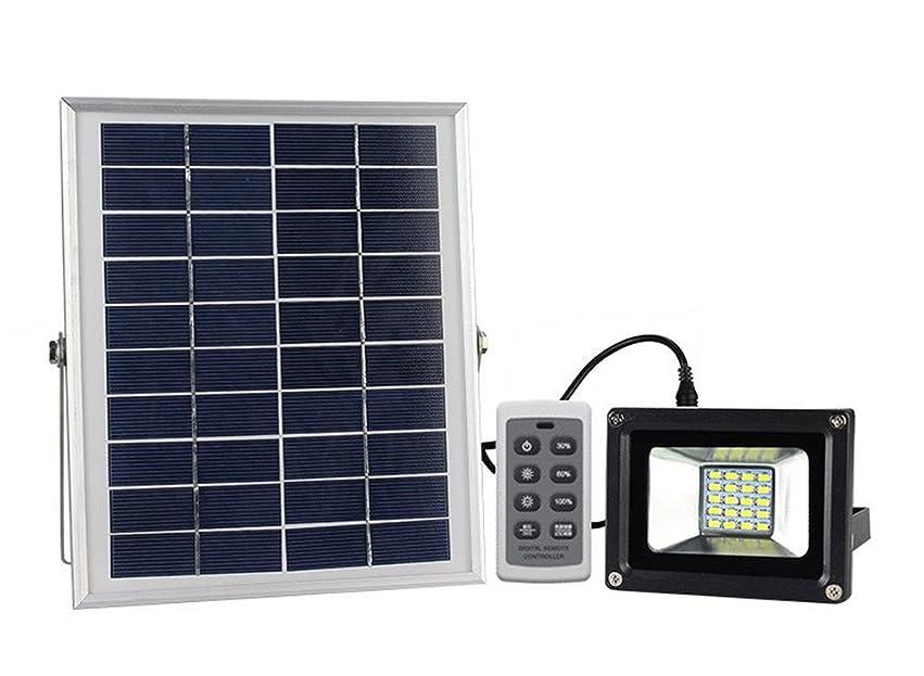 素晴らしい良い多くの息切れラジカルLIFEPOWER リモコン操作 屋外用LEDガーデンライト ソーラーパネル5W LED最大出力10W 高輝度LED20灯 防水仕様 夜間自動点灯 光量調節可 太陽光 経済的 LP-RM20SLED